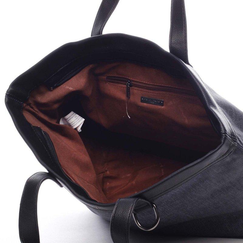 Sportovní velká dámská taška Agostino modrá