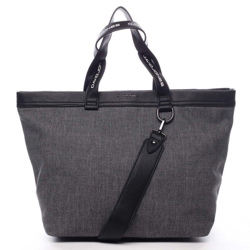 Sportovní velká dámská taška Agostino šedá