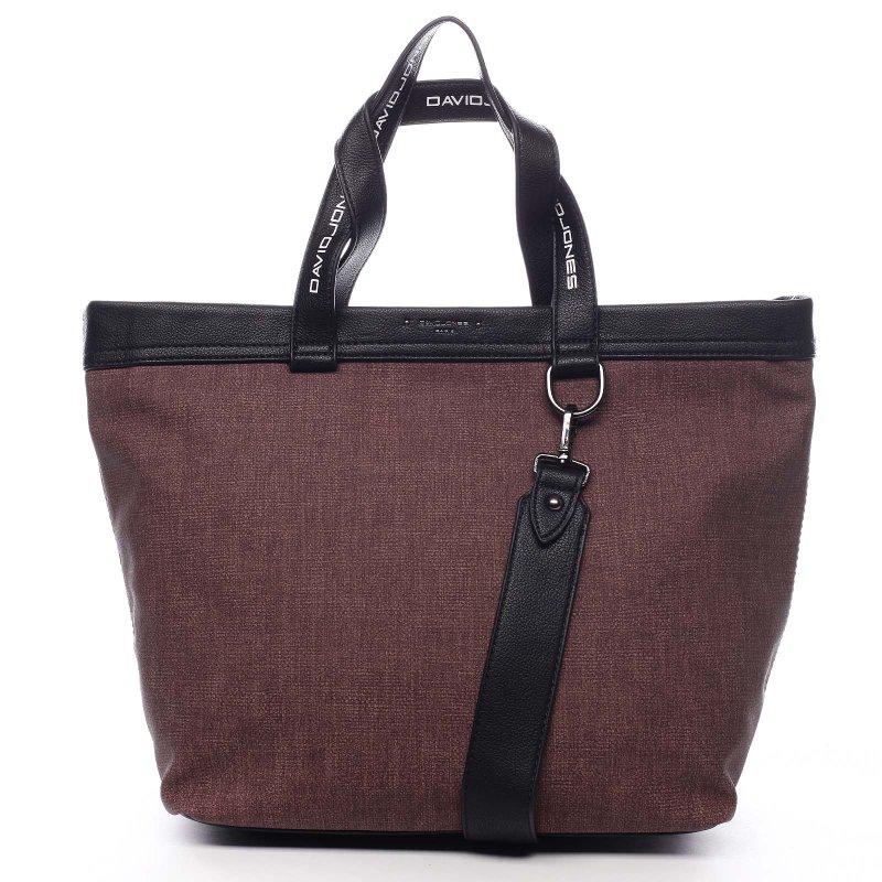 Sportovní velká dámská taška Agostino vínová