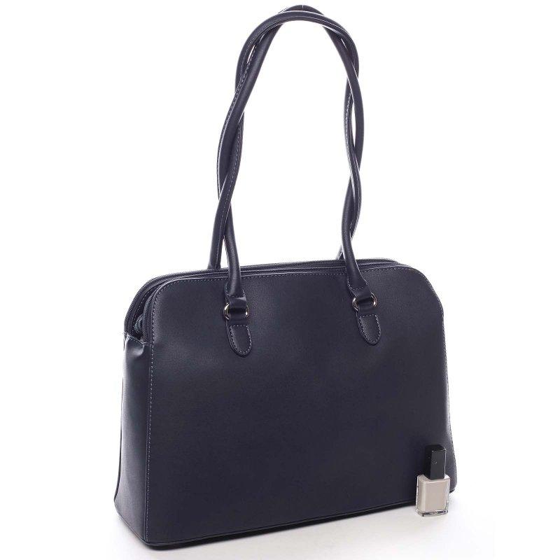 Stylová dámská taška s dlouhýma ušima Luca modrá