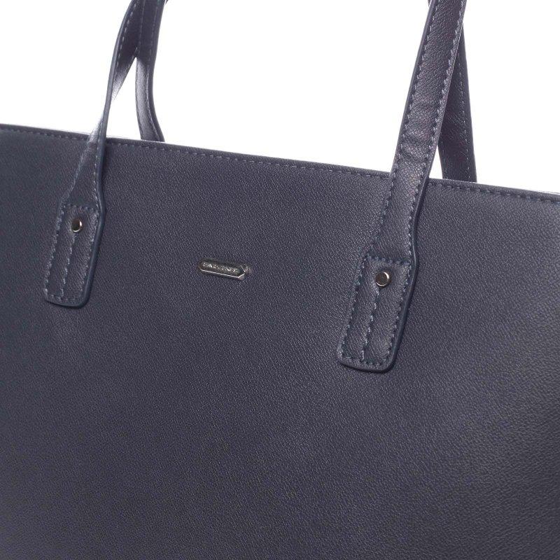 Nepřehlédnutelná praktická dámská taška Gottardo modrá