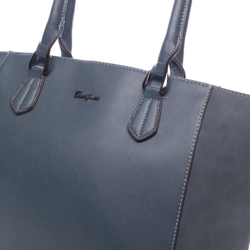 Velká pohodlná dámská taška Atanasio zelená