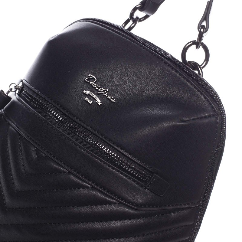 Módní dámský koženkový batůžek Marcellino černá