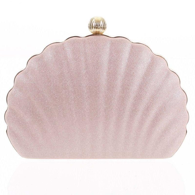 Nepřehlédnutelná plesová kabelka Terenzio růžová