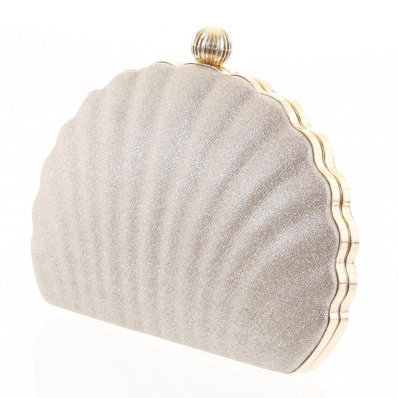 Nepřehlédnutelná plesová kabelka Terenzio zlatá