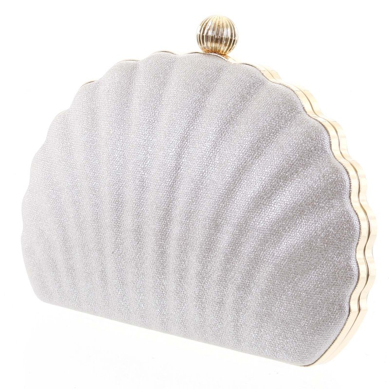 Nepřehlédnutelná plesová kabelka Terenzio krémová