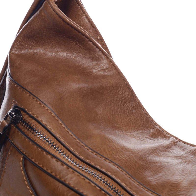 Dámská koženková kabelka/batoh Bonifaco rezavá