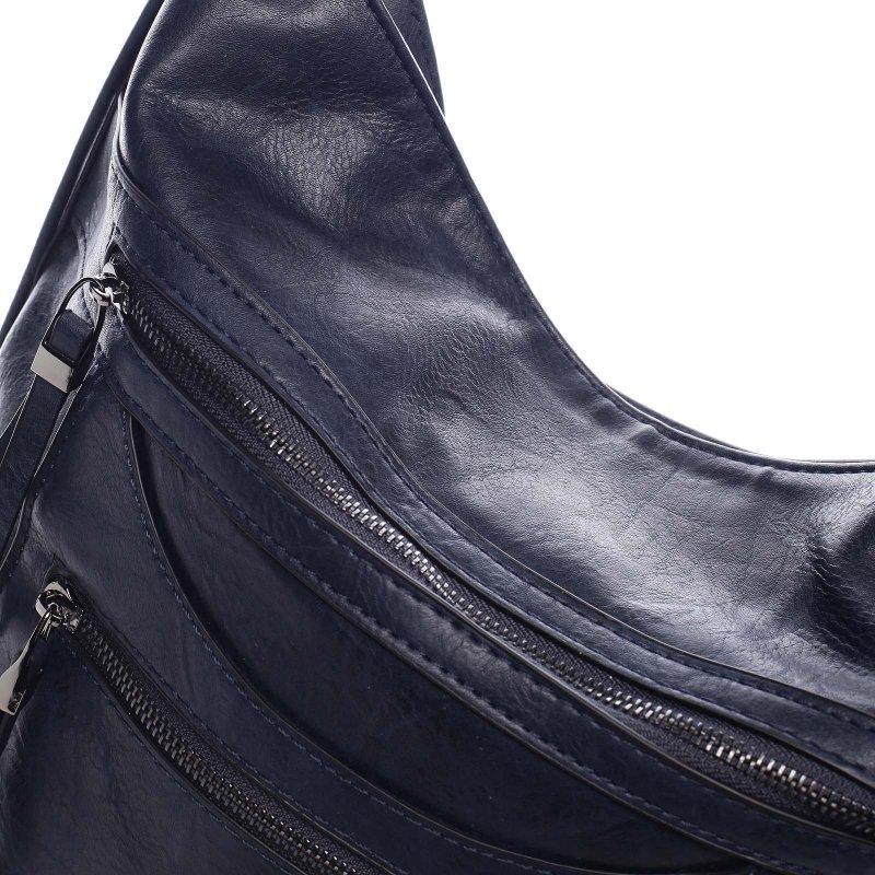 Dámská koženková kabelka/batoh Bonifaco modrá