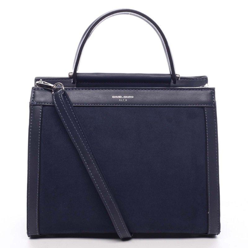 Stylový dámská kufřík Norberto modrá