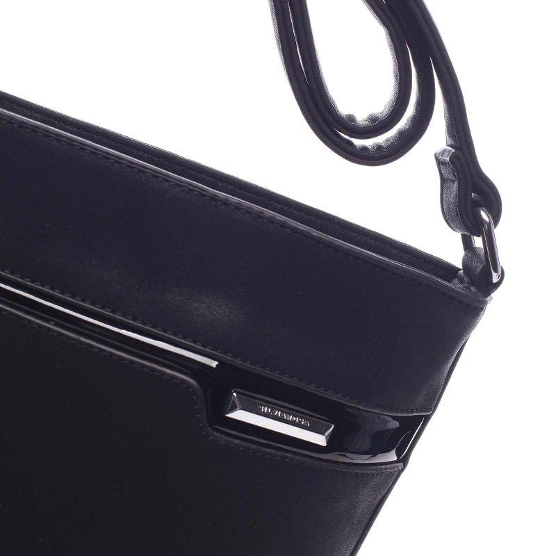 Elegantní dámská crossbody Efrum černá