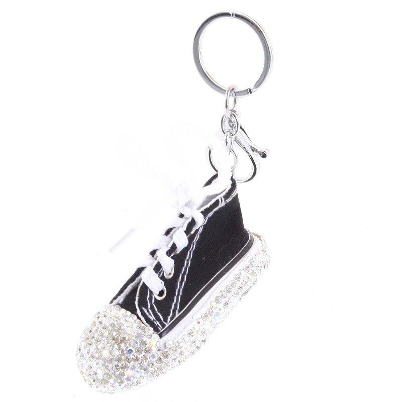 Přívěsek na klíče či kabelku teniska Olinda černá