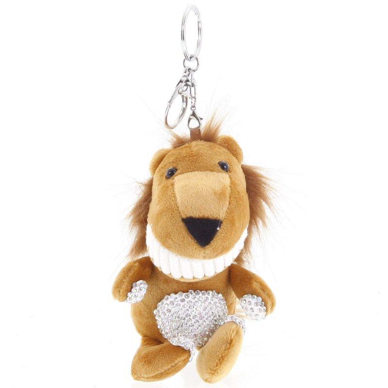 Přívěsek na klíče či kabelku lvíček Tawni