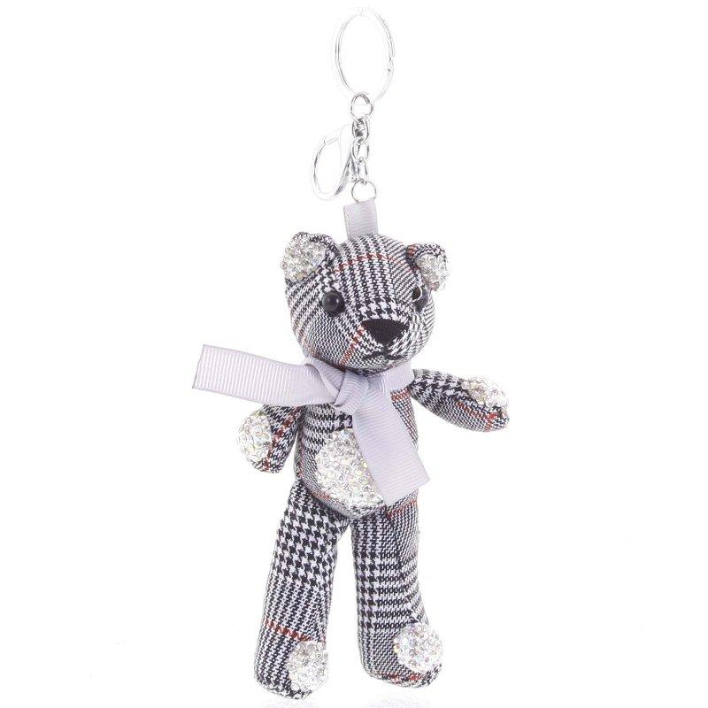 Přívěsek na kabelku či klíče medvídek Lamont