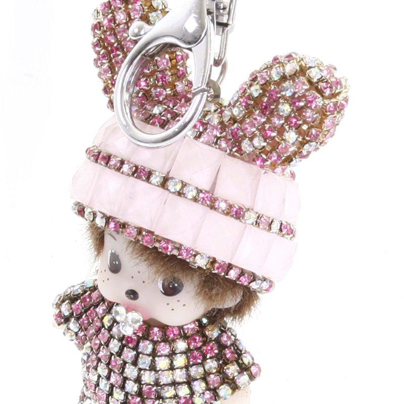 Přívěsek na kabelku či klíče miminko Lane růžová