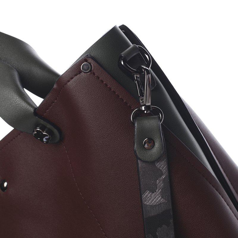 Kombinovaná dámská kabelka Yvette Pierre Cardin vínová