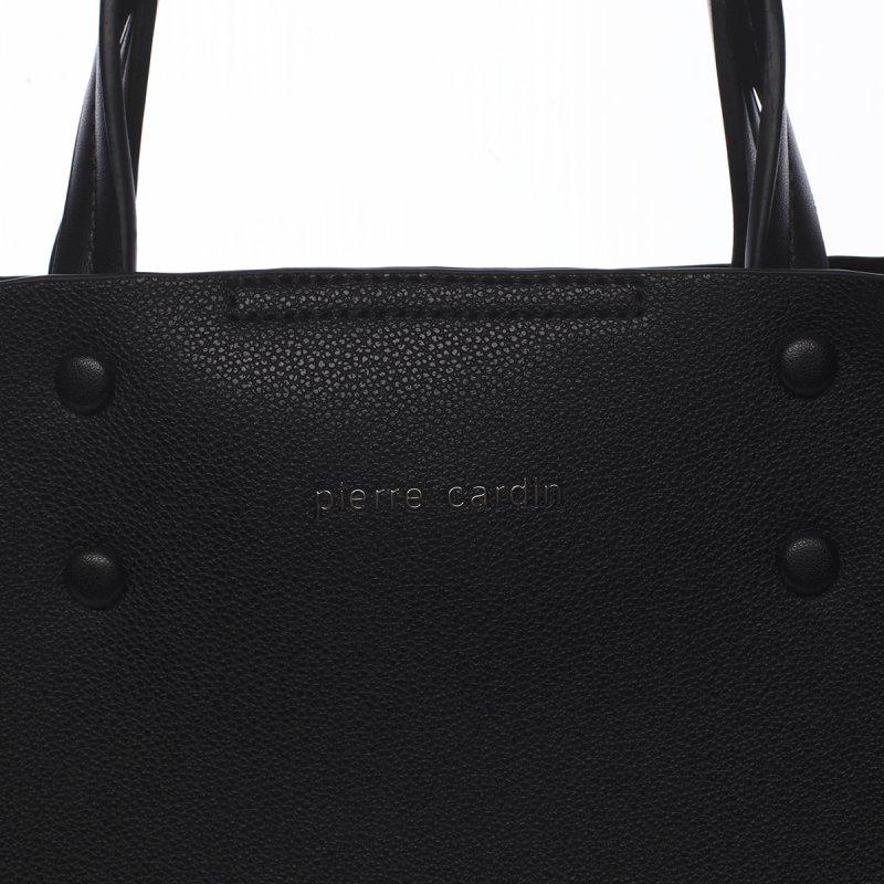 Pohodlná dámská kabelka Prisca Peirre Cardin černá