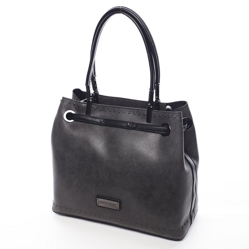 Větší dámská kabelka Bernard Pierre Cardin černá