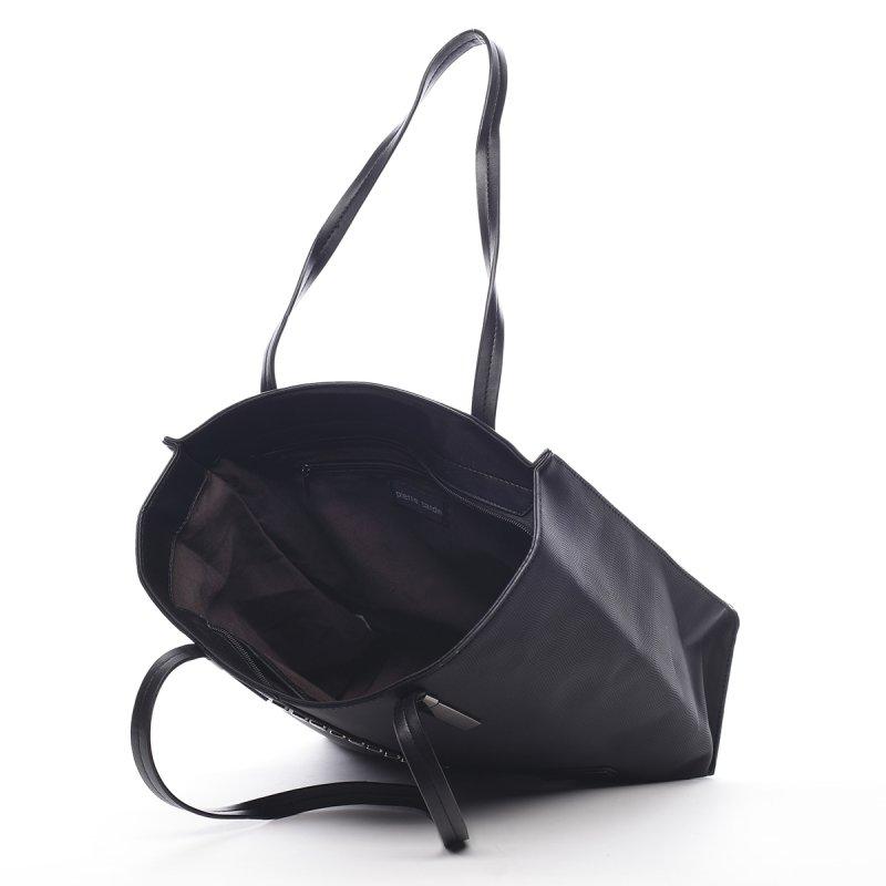 Prostorná dámská kabelka Roseline Peirre Cardin černá