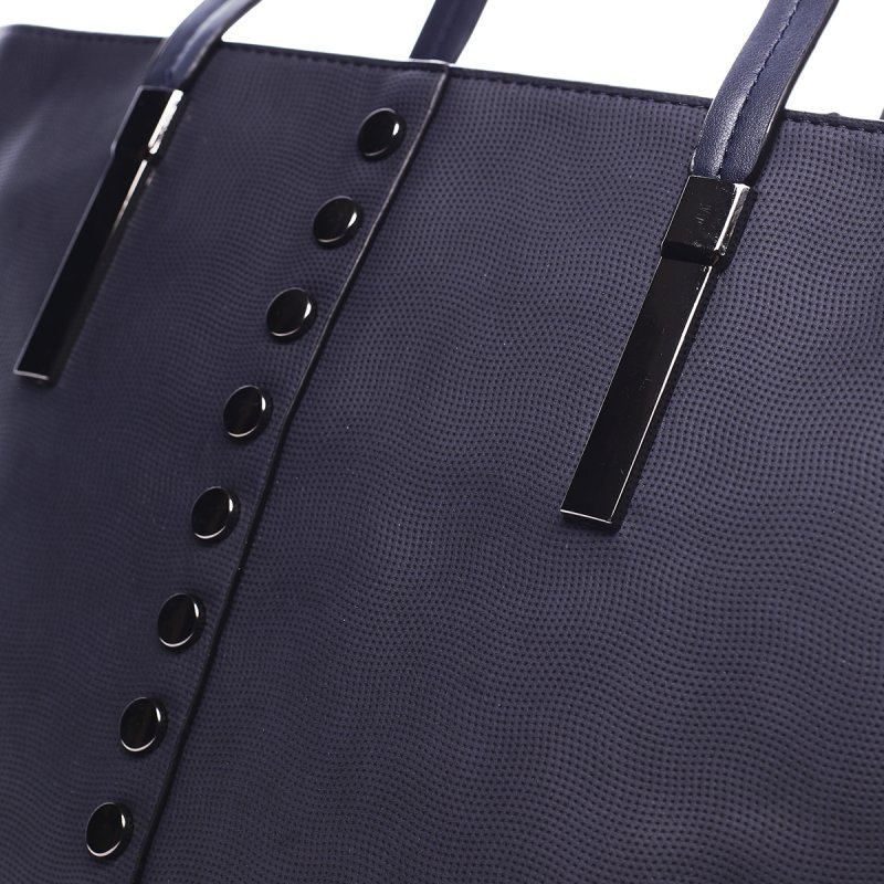 Prostorná dámská kabelka Roseline Peirre Cardin modrá
