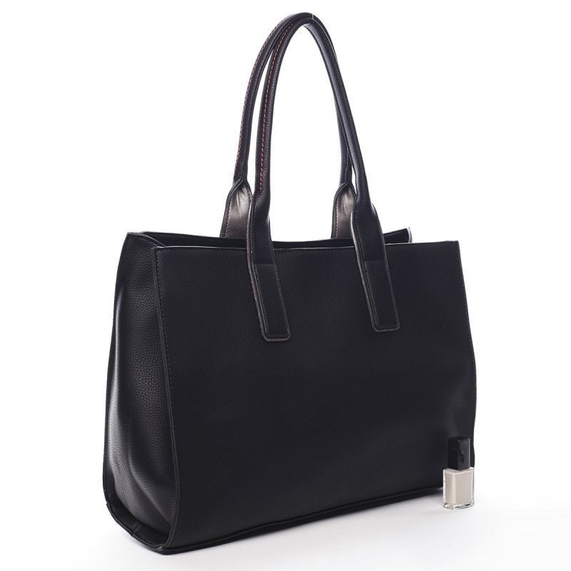 Prostorná dámská kabelka Pauline Pierre Cardin černá