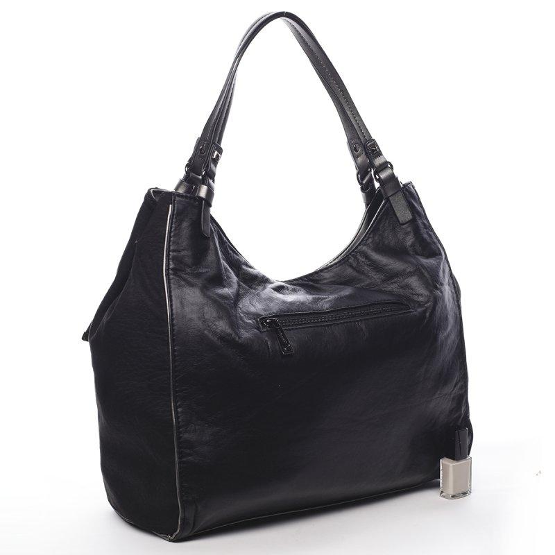 Nepřehlédnutelná módní dámská kabelka Sebastien Pierre Cardin černá