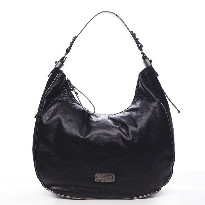 Pohodlná módní dámská kabelka Angele Pierre Cardin černá