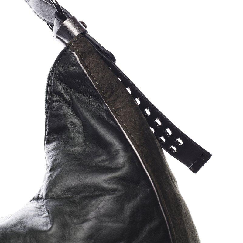 Pohodlná módní dámská kabelka Angele Pierre Cardin zelená