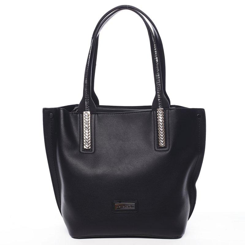 Stylová módní dámská taška Gildas Pierre Cardin černá