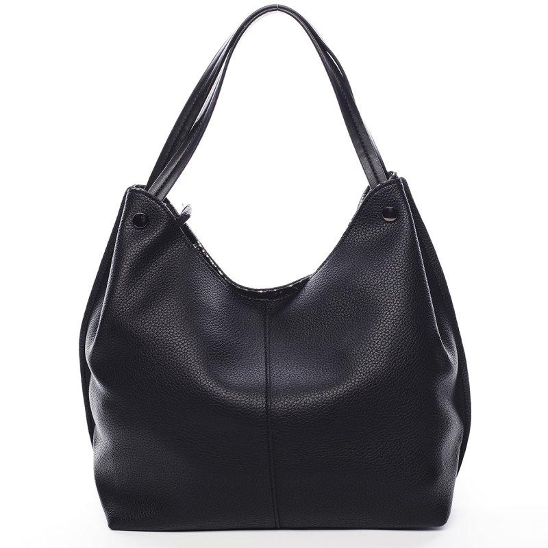 Prostorná dámská kabelka Nina Pierre Cardin černá
