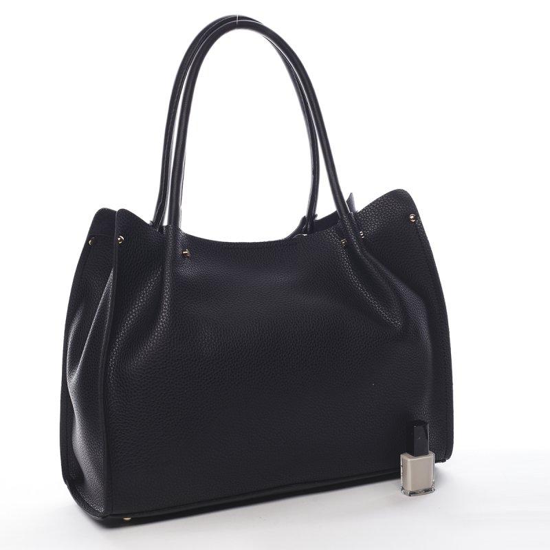 Praktický dámský shopper Rachel Pierre Cardin černá