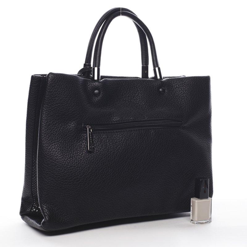 Nepřehlédnutelná módní dámská kabelka Agnes Pierre Cardin černá