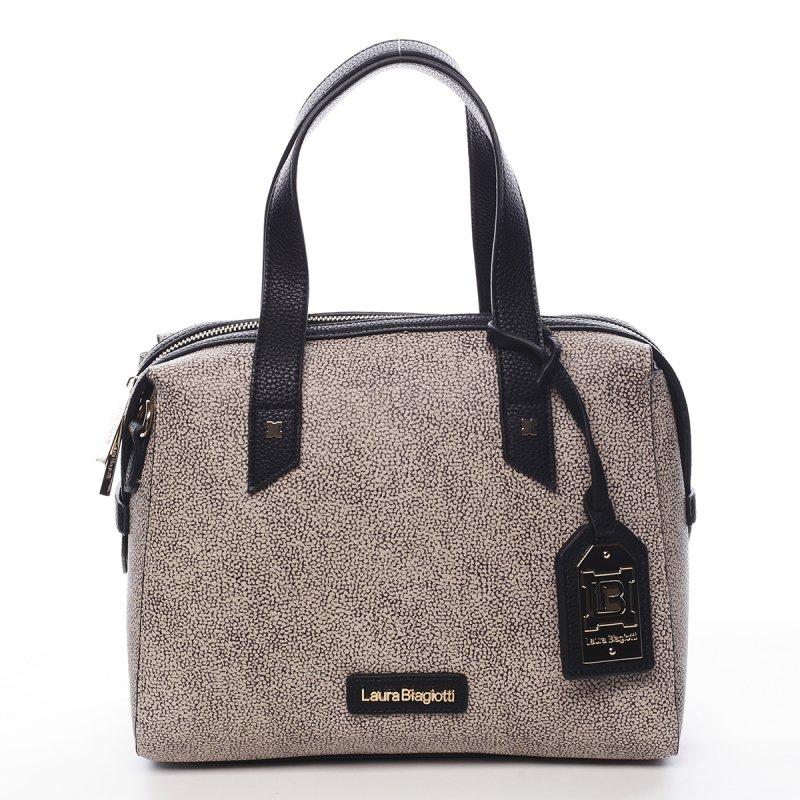 Luxusní dámský kufřík Alix Laura Biagiotti černá