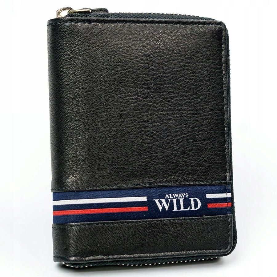 Exkluzivní kožená pánská peněženka Dino černá