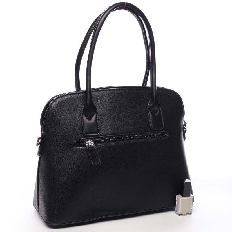 Krásná módní dámská kabelka Jean černá