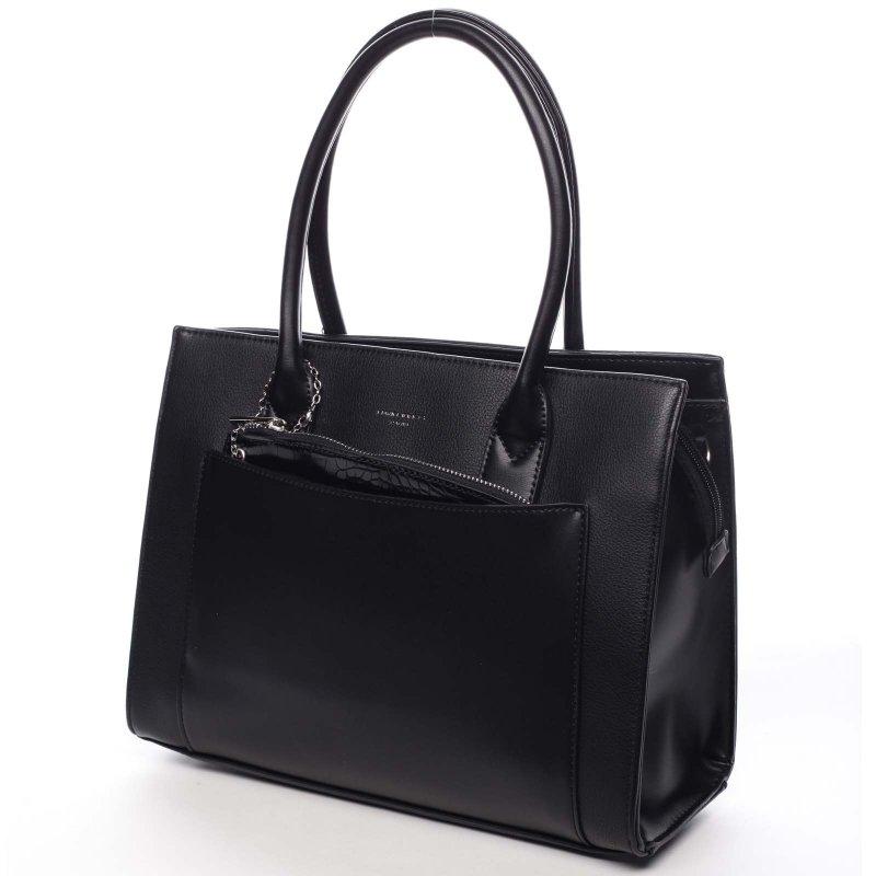 Stylová módní dámská kabelka Valéry černá