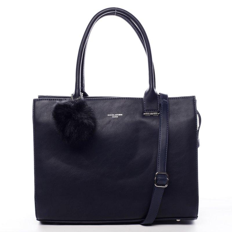 Prostorná okouzlující dámská taška Vivien modrá