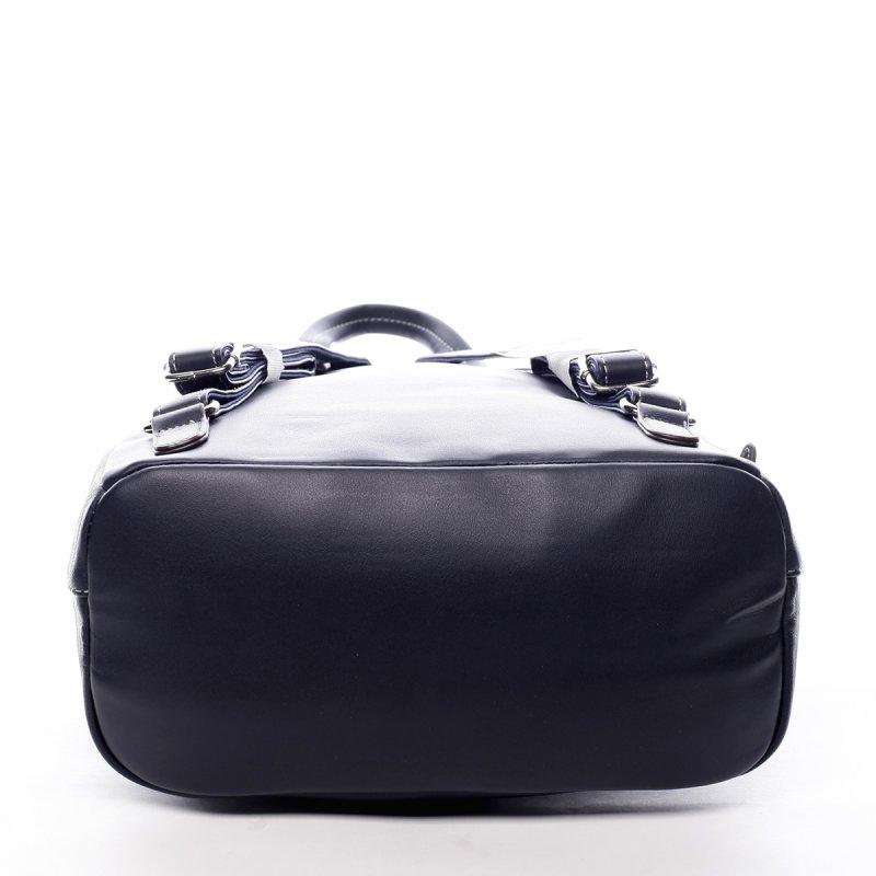 Prostorný městský dámský batoh Justine modrá