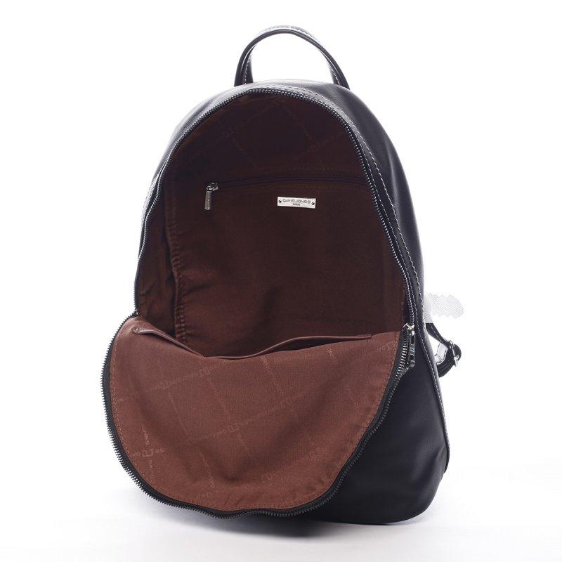 Prostorný městský dámský batoh Justine černá