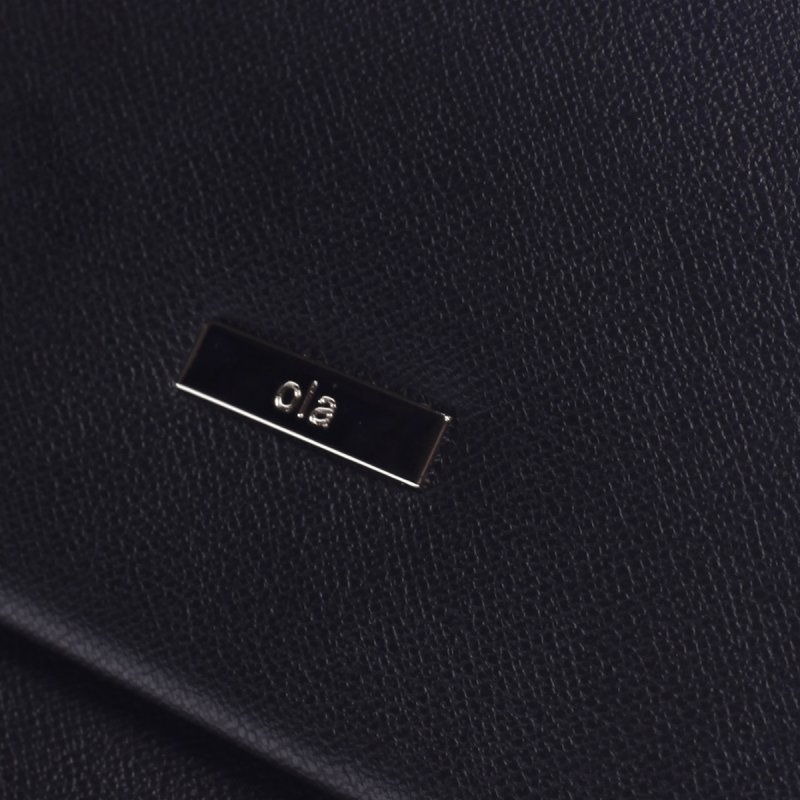 Nepřehlédnutelný dámský koženkový batoh Pol černá