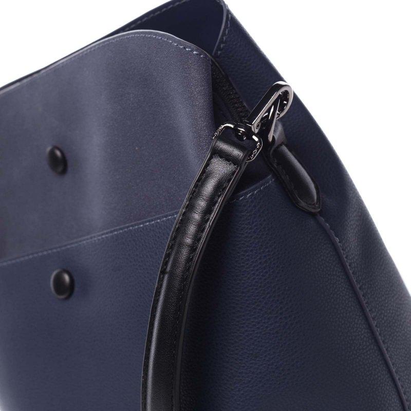 Dámská koženková crossbody Luren modrá