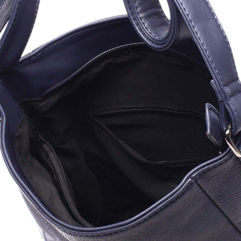 Velká dámská praktická taška Louise modrá