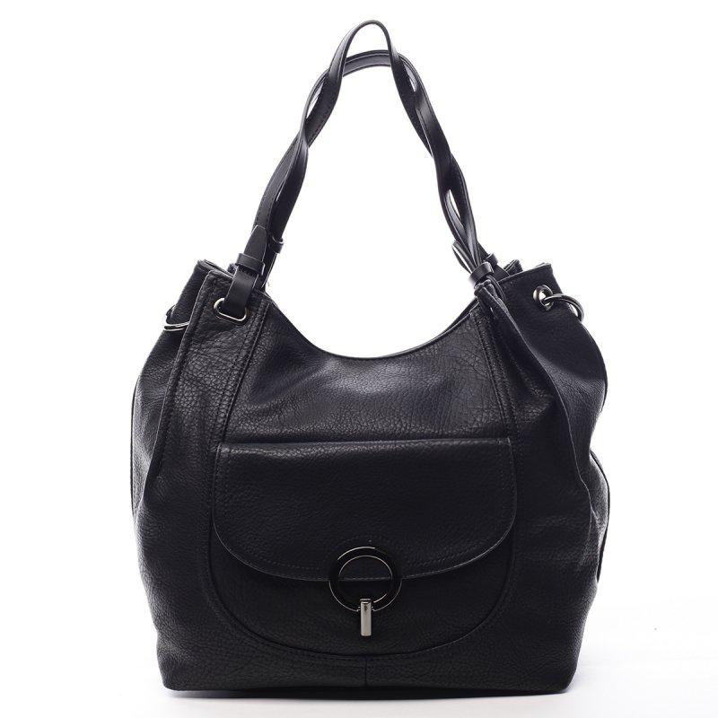 Dámská koženková kabelka Helen černá