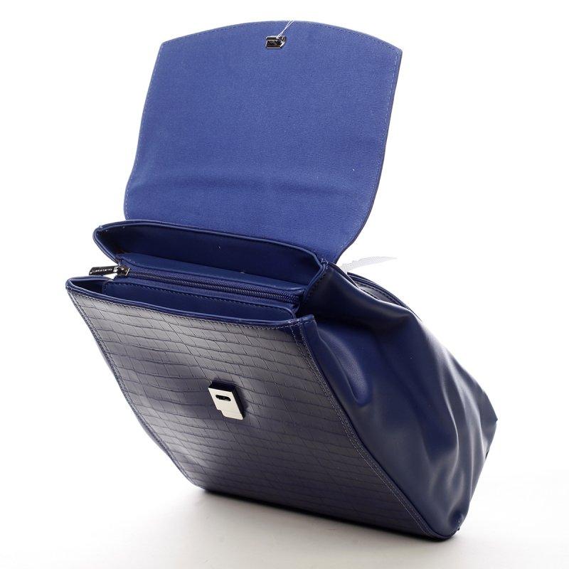 Módní městský batůžek Leanne modrá