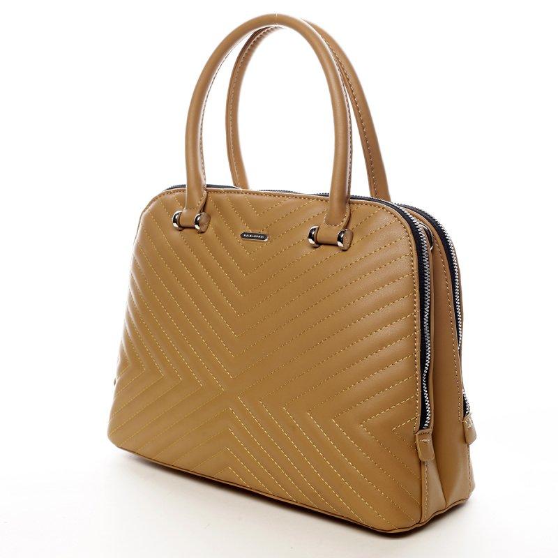 Desingová módní taška Rhianon žlutá