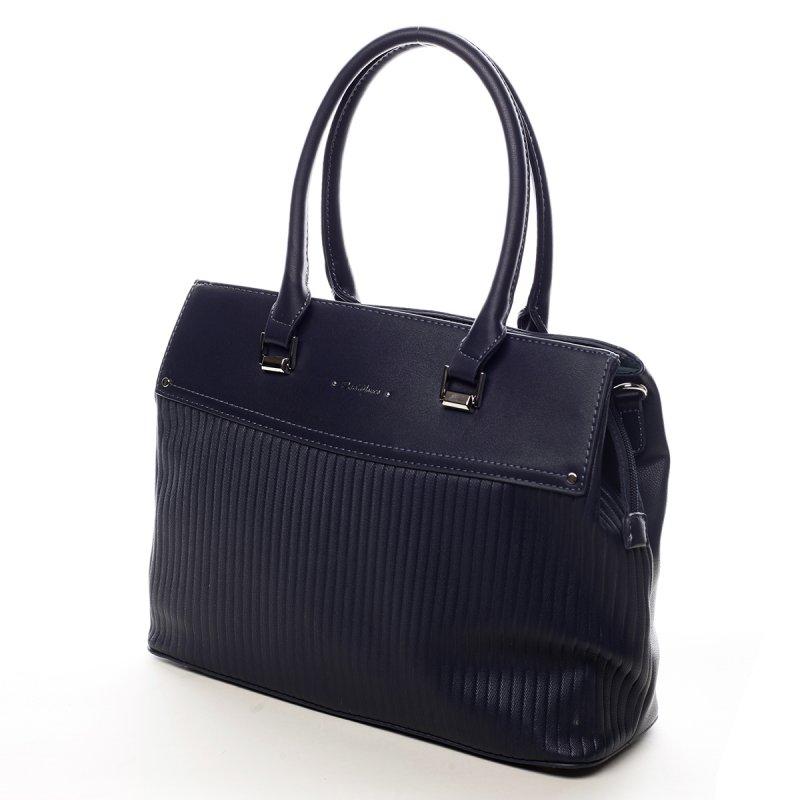 Prostorná dámská taška Heather modrá