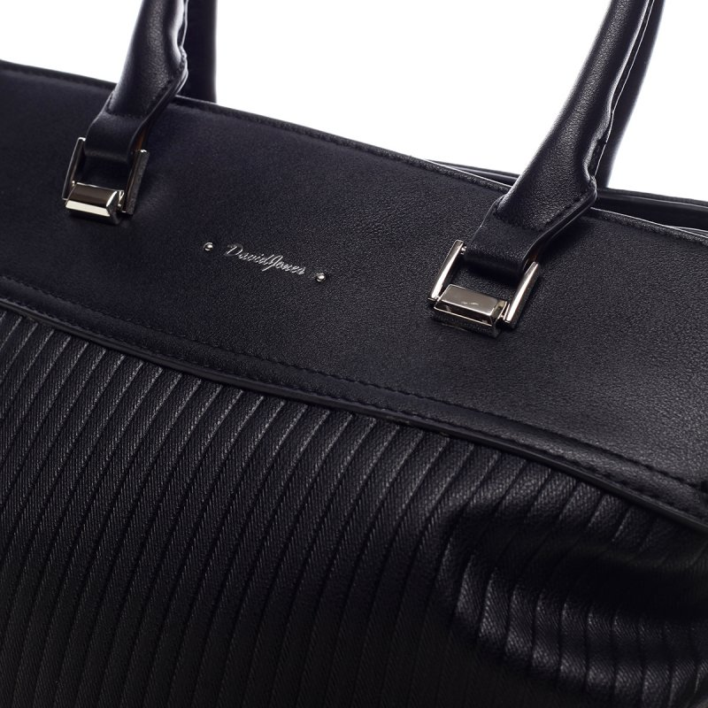 Prostorná dámská taška Heather černá