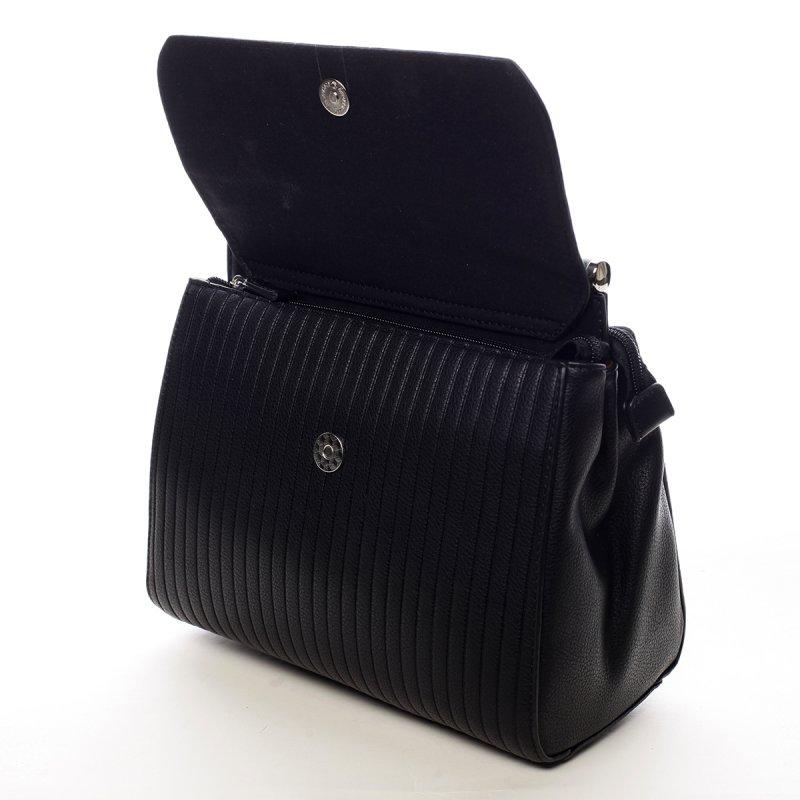 Nepřehlédnutelná dámská kabelka Jenny černá