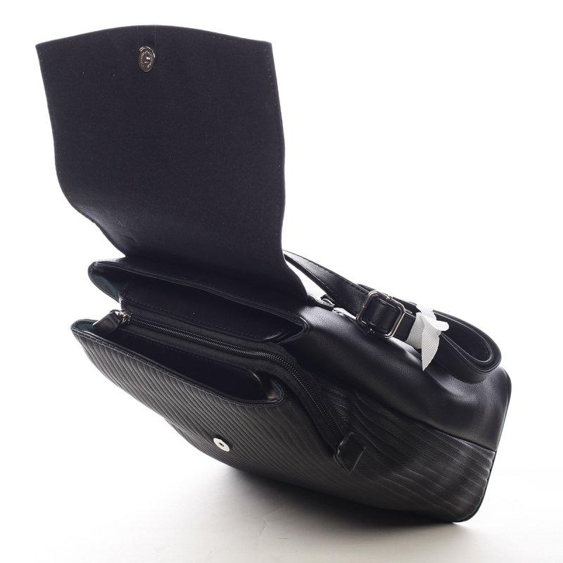 Originální městský batůžek Becca černá
