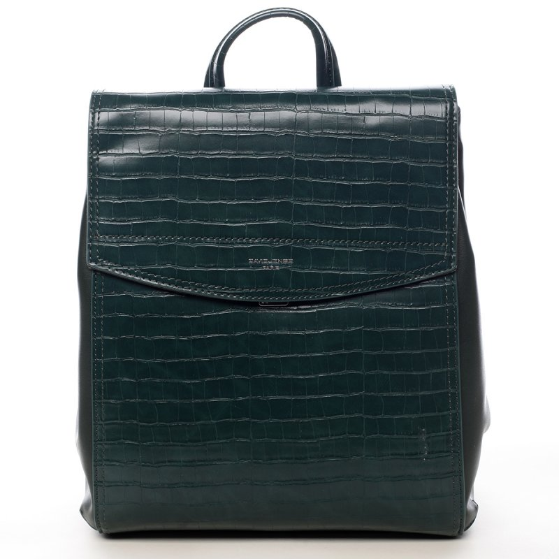 Módní městský batůžek Leanne zelená