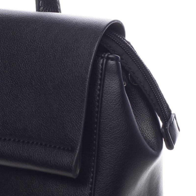 Elegantní pevný dámský batoh Amelia černá